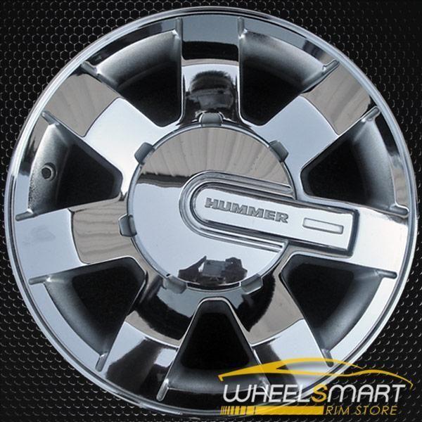 16 Hummer H3 Rims For Sale 2006 2010 Chrome Oem Wheel 6303 Rims For Sale Oem Wheels Wheels For Sale