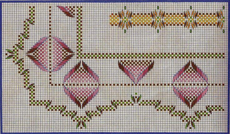 bordado bargello sobre esterilla patrones - Ask.com Image Search