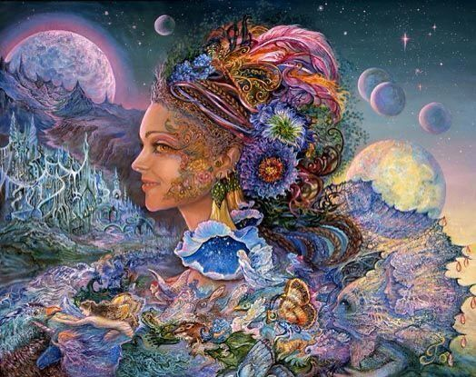 386 best josephine wall art images on pinterest josephine wall luna landra by josephine wall voltagebd