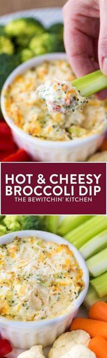 Hot Broccoli Dip - t Hot Broccoli Dip - this cheesy hot... Hot Broccoli Dip - t Hot Broccoli Dip - this cheesy hot appetizer is a party favorite! Recipe : http://ift.tt/1hGiZgA And @ItsNutella http://ift.tt/2v8iUYW