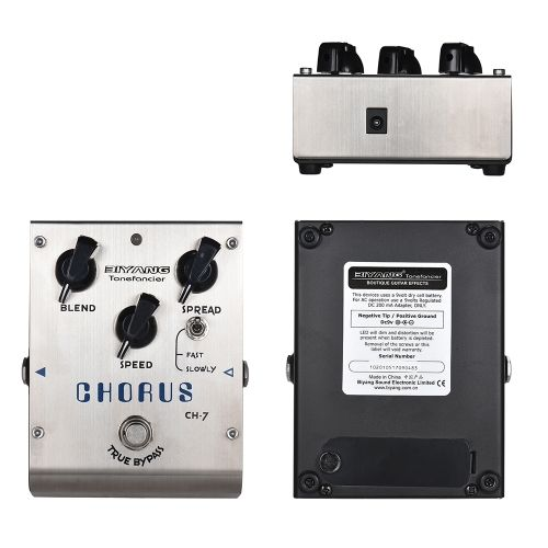 Shop best Array BIYANG CH-7 Tonefacier Series Analog Chorus Guitar Effect Pedal True Bypass Full Metal Shell from Tomtop.com at fast shipping. Various discounts are waiting for you!