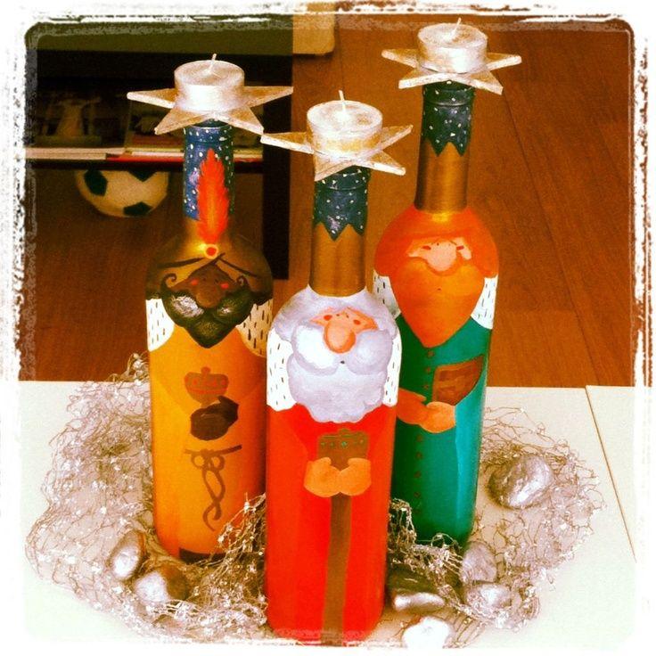 DIY: Candelabros de Reyes Magos PARA NURIA