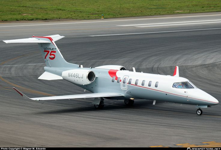N446LJ Bombardier Aerospace Corporation Learjet 75