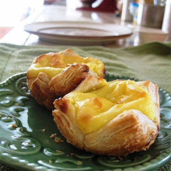 "Portuguese Custard Tarts - Pasteis de Nata | ""These are delicious Portuguese Custard Tarts."""