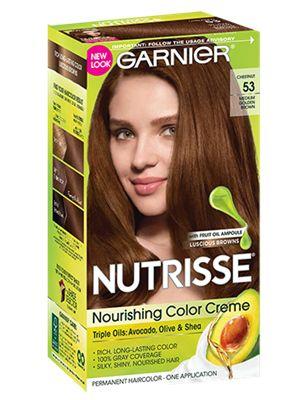 Nourishing Color Creme Medium Golden Brown 53 (Chestnut) Mandy Moore's go to color