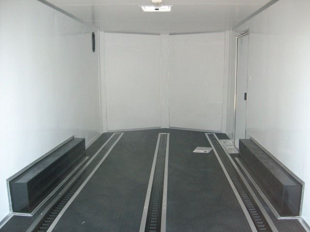 Enclosed Carhauler Trailer With Full Finished Interior And