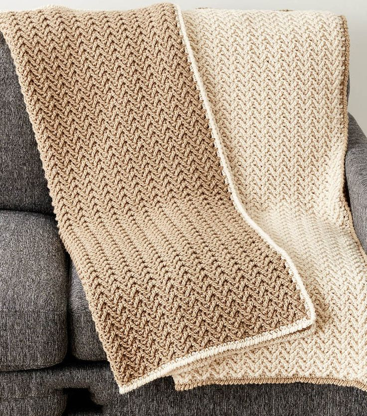 Make A Crochet Texture Lap Blanket