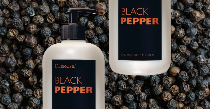 Man Shower Gel Black Pepper