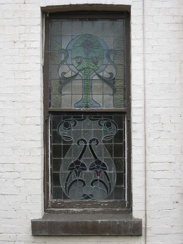 Art Nouveau Stained Glass Windows of Reid's Coffee Palace – Lydiard Street, Ballarat - Victoria Australia