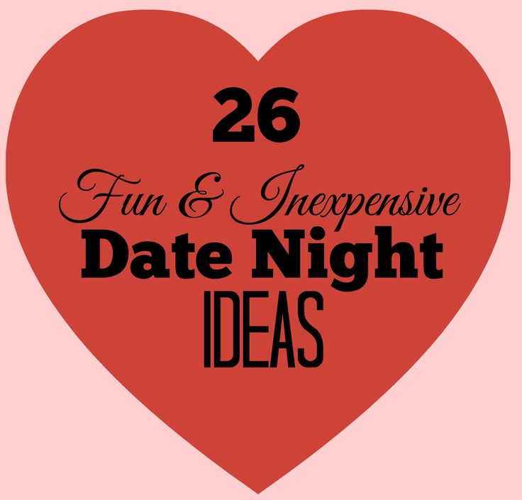 Inexpensive Date Night Ideas Final