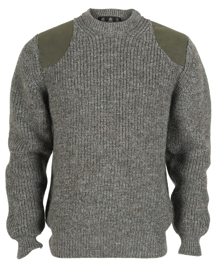 Barbour Mens Tyne Sports Crew Neck Sweater - Olive
