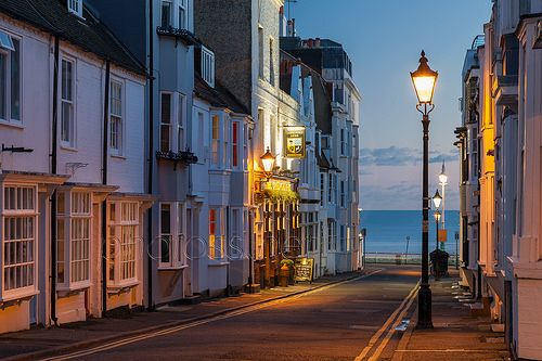 \Camelford Street in Brighton, East Sussex, England.