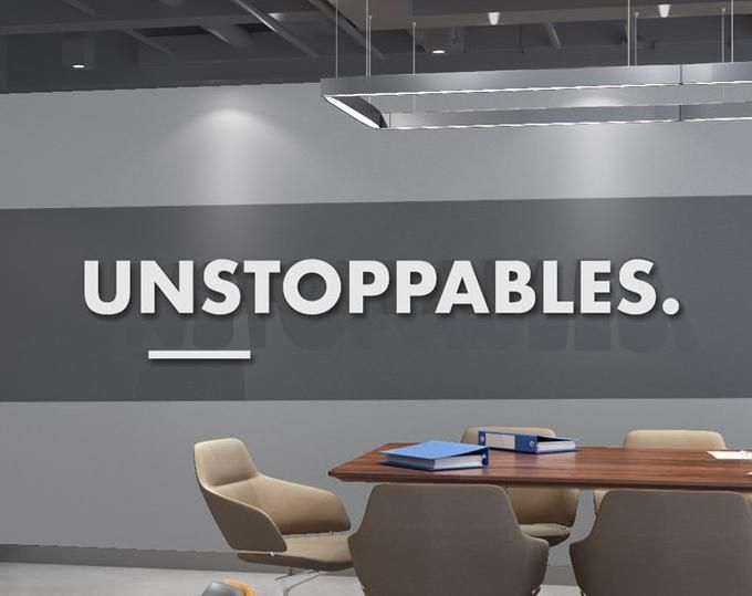 Teamwork Makes The Dreamwork 3d Office Wall Art Typography Etsy