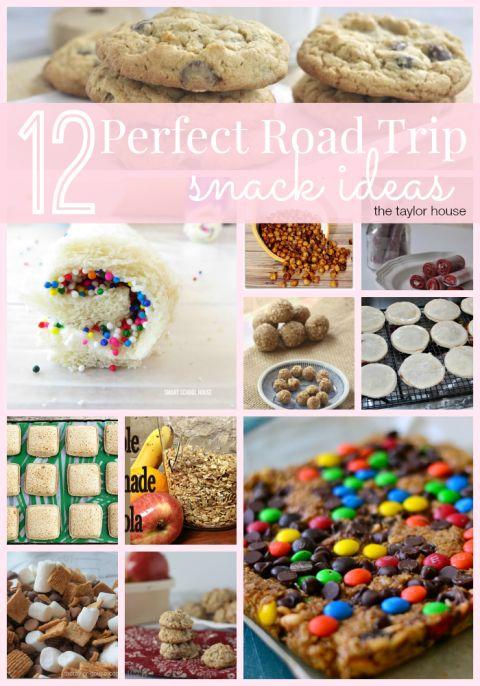 Road Trip Snacks, Kids Snacks, Vacation snack ideas