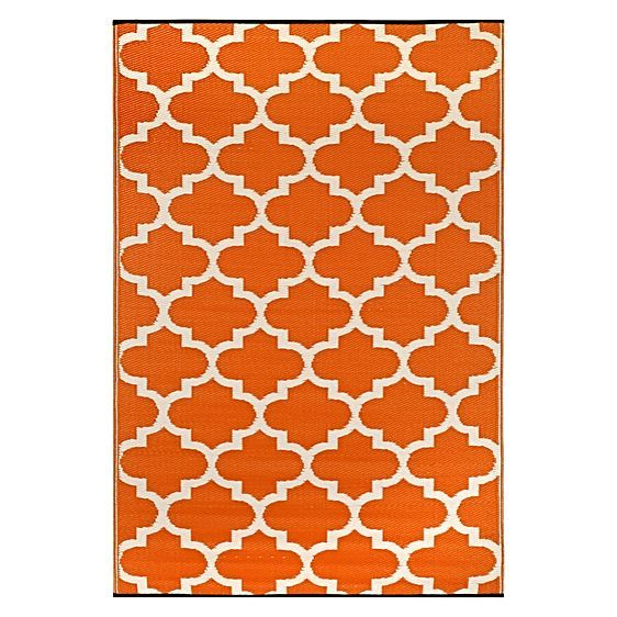 Tangier Plastic Outdoor Rug by FAB Rugs