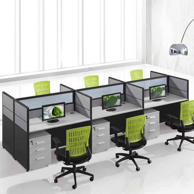 Cf Office Work Desk Modular Call Center Workstation Design For 6 Person View Office Work Desk Chuangfan Product Details From Guangzhou Chuangfan Office Furni Cubicle Design Office Cubicle Design Workstations Design