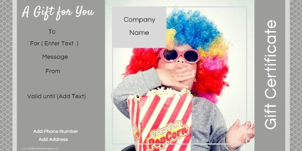 7 Best Photo Gift Certificate Templates Images On Pinterest Gift