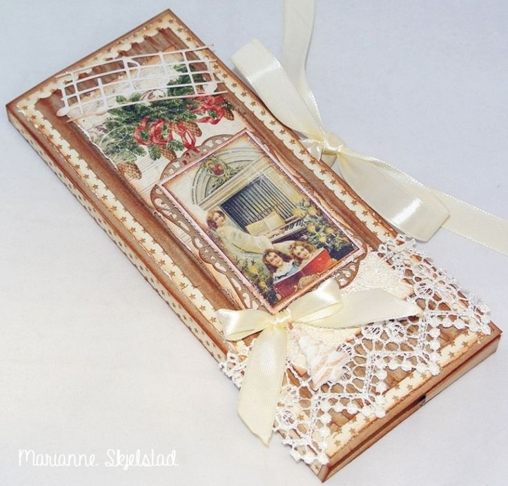 Chocolate card by Marianne for Pion Design This has got to be the ultimate in chocolate gift giving...