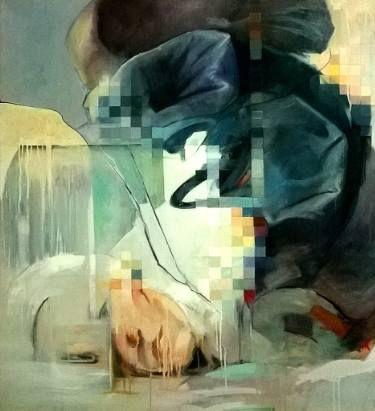 "Saatchi Art Artist Constantin Tanislav; Painting, ""Abstract body"" #art"