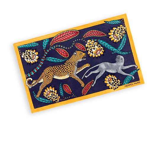 Savanna Dance Hermes Beach Towel - Ardmore Artists