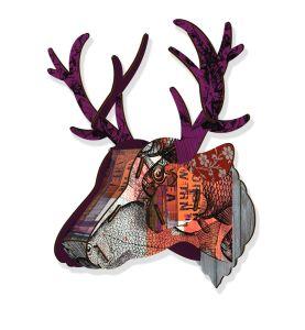 MIHO purple branch trophy deer