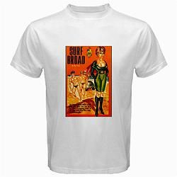 Retro Themed T-shirt Military Deadly Surf Broad