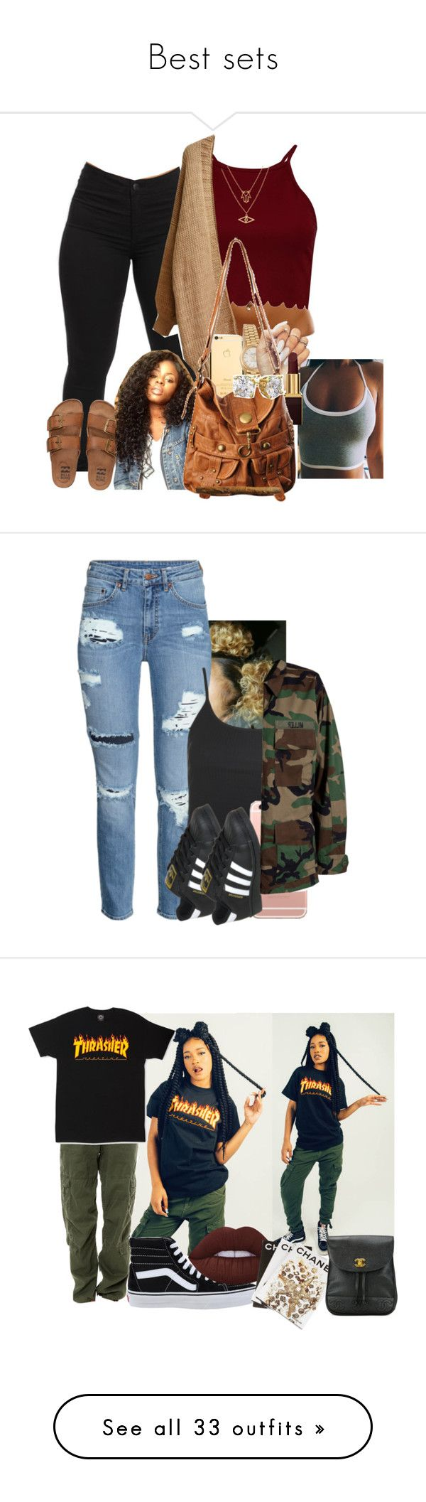"""""""Best sets"""" by simoneswagg on Polyvore featuring Billabong, Rolex, Tom Ford, Forever 21, Chicnova Fashion, Topshop, adidas, Modström, Rothco and Vans"""