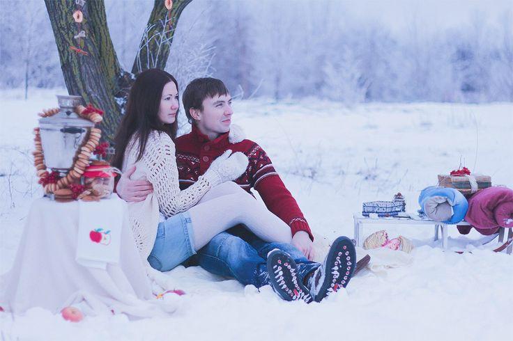 love-story, pair, Winter jam :)