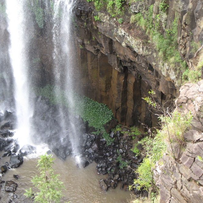 Killarney Falls round trip - Brisbane WeekendNotes - The Falls Drive - Brisbane