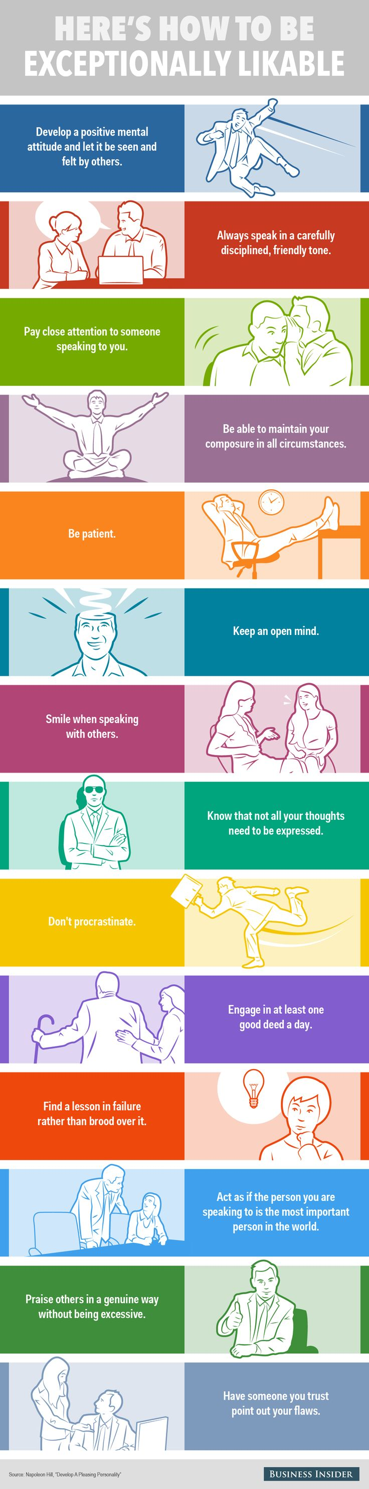 14 habits of exceptionally likable people | Business Insider