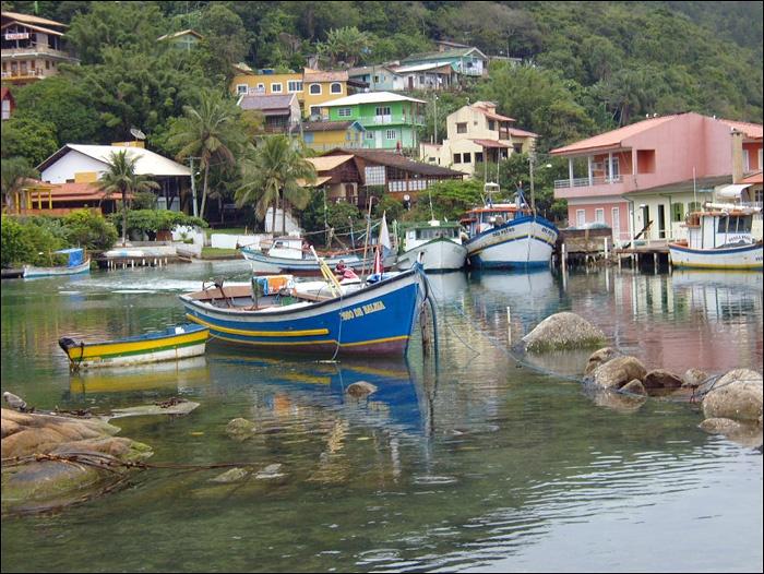Barra da Lagoa. 20 km from Florianopolis