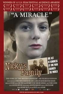 """""""Nicky's Family"""",  screened in high schools as a teaching tool to facilitate discussion about Jewish experience during WWII and Sir Nicholas Winton's volunteer efforts and compassion that continue to inspire so many to help others.  Now playing in Boston, MA and Miami Shores Opening July 19 in NYC and LA county theaters!  For a list of theaters visit: http://www.menemshafilms.com/"""