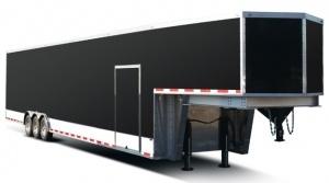 Rance Renegade Gooseneck Fifth Wheel Enclosed Car Hauler Trailer