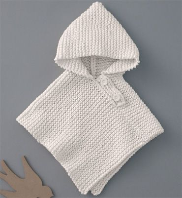 modèle tricot poncho bébé gratuit                                                                                                                                                                                 Plus