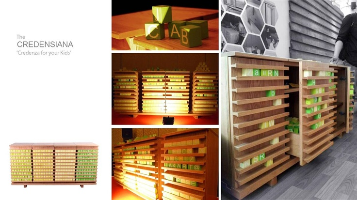 The Most Innovation Award @ Indonesian Furniture Design Competition 2012
