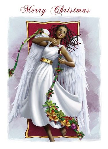 136 best poc dreaming of a black christmas vintage - African american christmas images ...