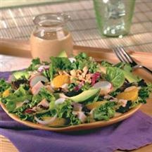 Peanut Butter Salad Dressing (for fruit salads) is something the boyfriend might even be willing to try.