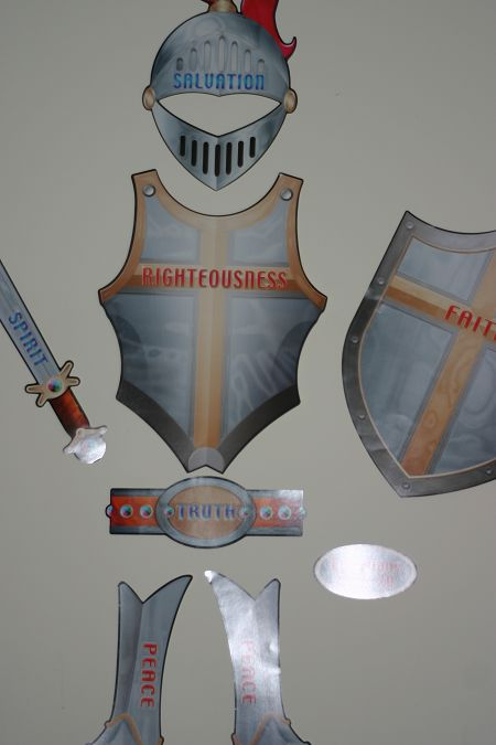 Armor of god vbs pinterest for Armor decoration
