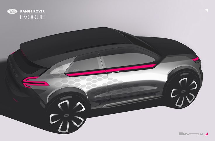 Gashetka | Transportation Design | 2014 | Range Rover Evoque | Exterior Design by...