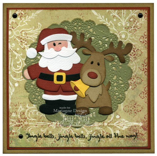 ~* Jay Jays kreative Welt *~: {Marianne Design} Santa & Rudolph