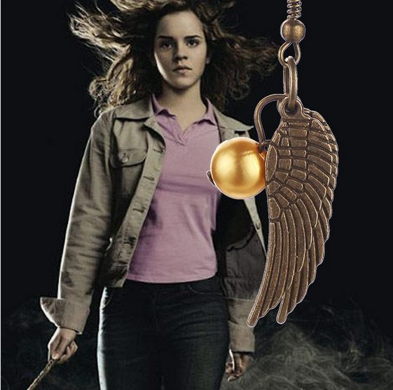 This is a earring replica of the Golden Snitch from Harry Potter. Please note: any items ordered after Dec 4 might not arrive before Christmas as average ship time is 2-3 weeks