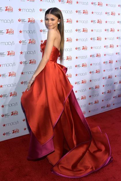 Zendaya Coleman's fashion transformation! February 2015.