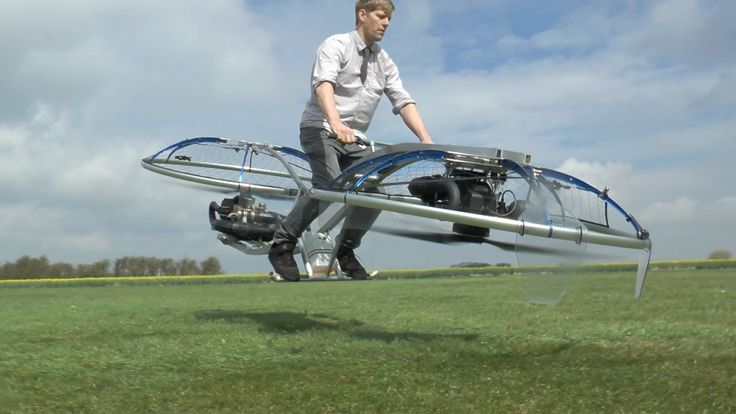 Inventor Colin Furze Takes Flight on His Homemade Hover Bike