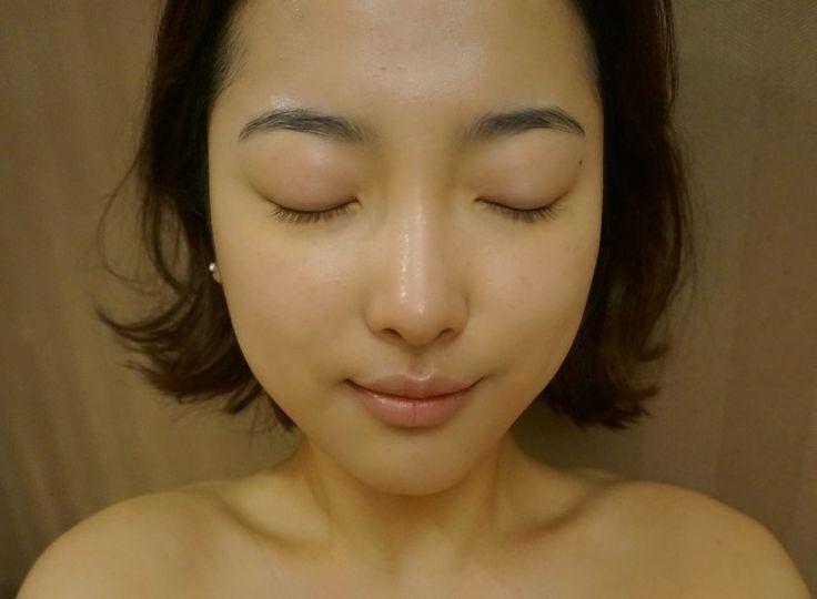 스타물과고주파 직후의 내얼굴 (정면)