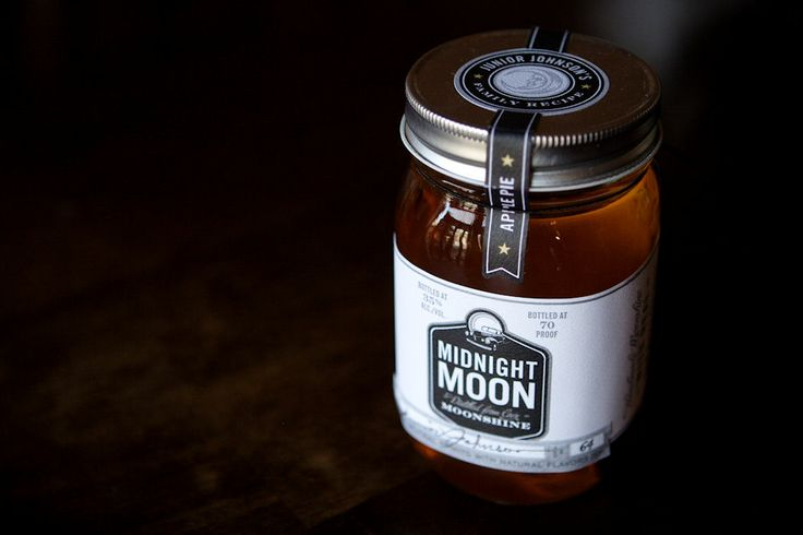 Apple pie moonshine from Midnight Moon. #moonshine #cocktails