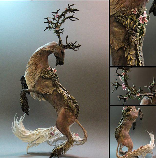 精霊にメタモルフォーゼした獣のフィギュア、このクオリティーは高すぎる http://japan.digitaldj-network.com/articles/11810.html