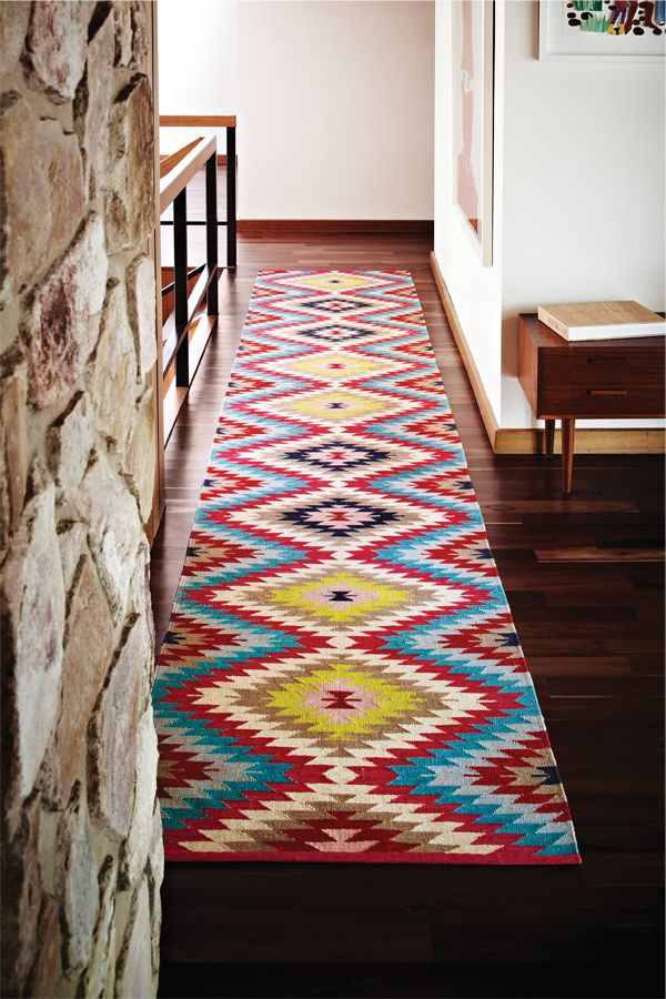 Intricately woven kilim rugs from Armadillo & Co | Australian Design Review
