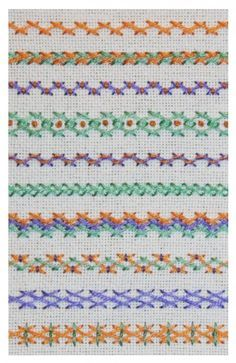 Herringbone stitch variations