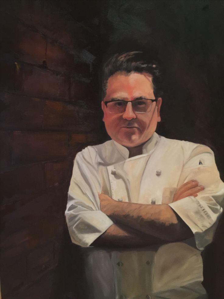 Guy Grossi - Archibald entrant 2016 oil on canvas 1500x 900 Rick Brun painter