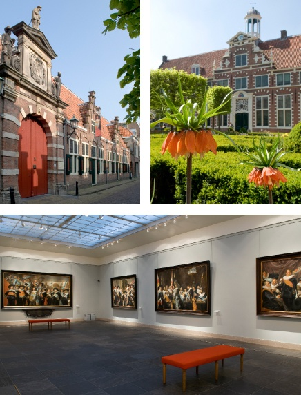 Visit the Frans Hals Museum in Haarlem and see some of the awesome Golden Age paintings with your own eyes.